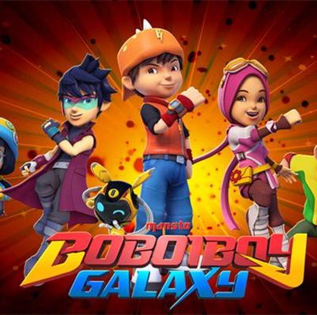 Boboiboy Galaxy akan Diangkat ke Layar Lebar