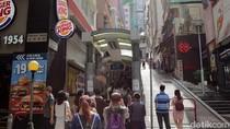 Foto: Eskalator Outdoor Terpanjang di Dunia