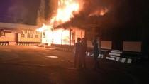 Gedung Mapolres Kepulauan Selayar Terbakar