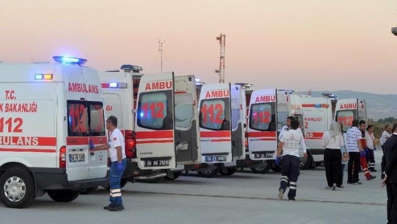 Bom Serang Bus Polisi di Turki, 12 Orang Terluka