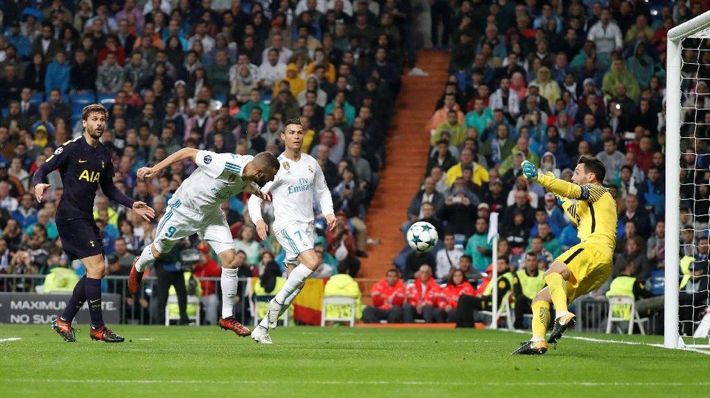 Madrid Berimbang dengan Tottenham 1-1