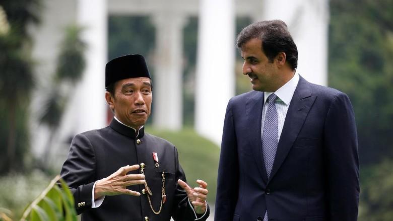 Jokowi: Emir Qatar Janji akan ke Raja Ampat