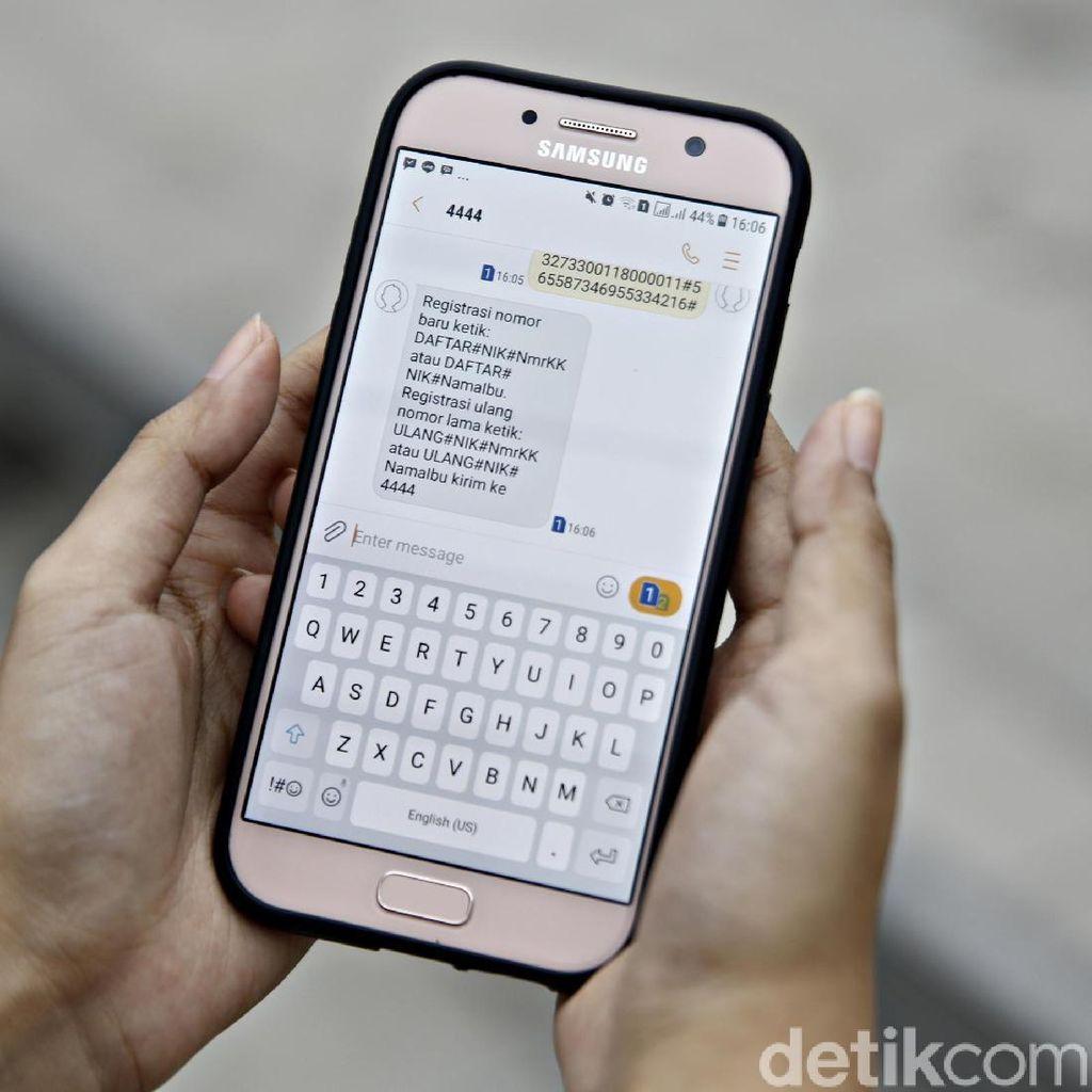 Menkominfo Yakin Ratusan Juta SIM Card Mampu Teregistrasi