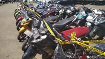 Motor Pernah Dicuri? Silahkan Ambil di Polrestabes Bandung