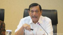 Masuk Cawapres Jokowi Versi PSI, Menko Luhut No Comment