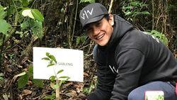 Dukung Pelestarian Alam, Tim Wiro Sableng 212 Tanam Pohon di Hutan