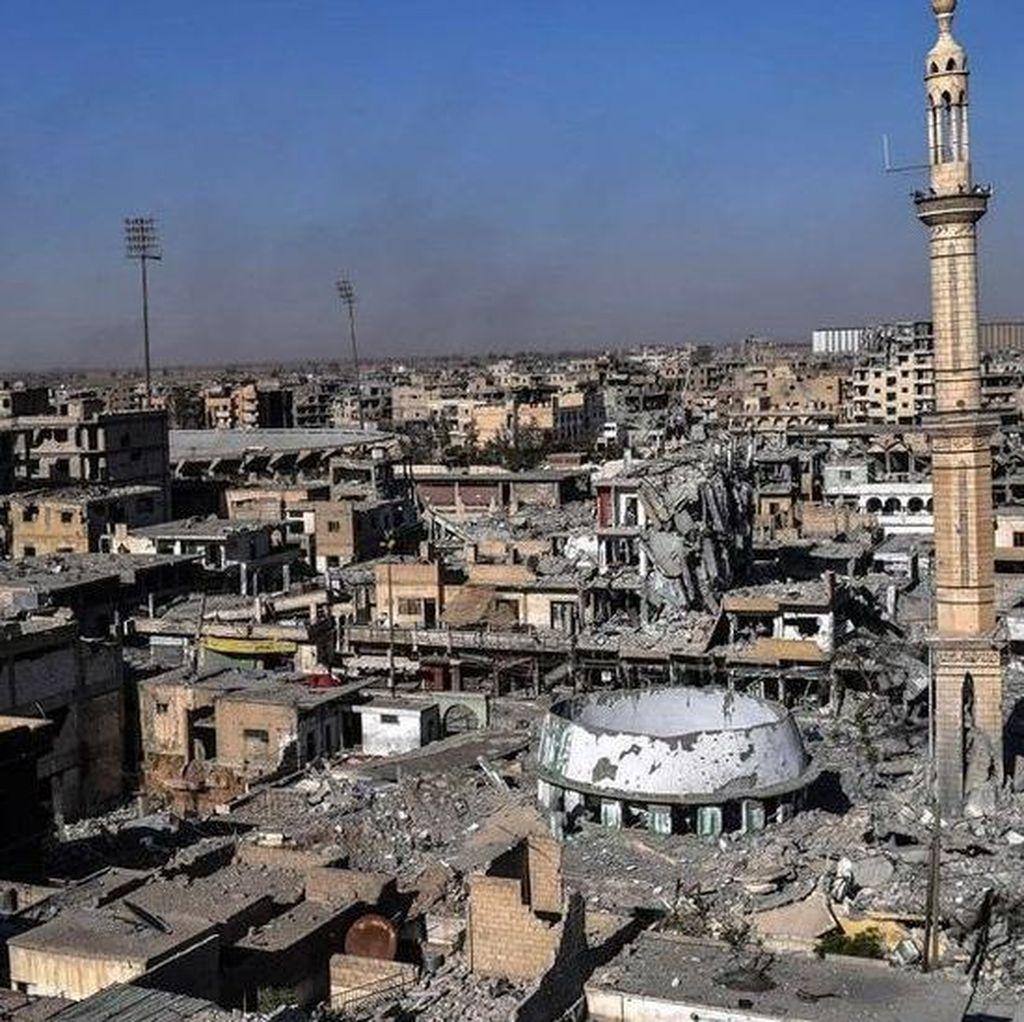 Raqqa, Ibu Kota ISIS Jatuh Setelah Pertempuran Sengit Berbulan-bulan