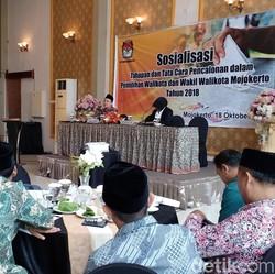 KPU Jatim Imbau 18 Daerah Waspadai Tahapan Pilkada 2018