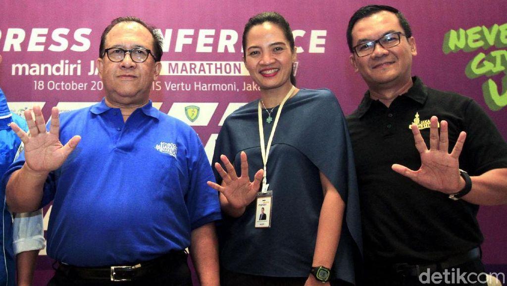 Mandiri Jakarta Marathon Digelar 29 Oktober