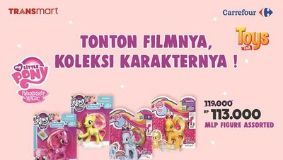Agar Kantong Tak Kempes, Ada Toys Fair di Transmart Carrefour
