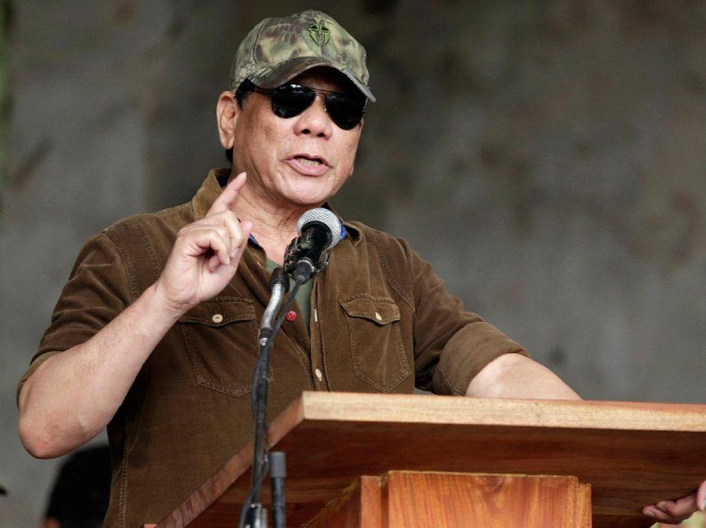 Pesan Duterte Untuk Para Penjahat: Saya Akan Tembak Kalian