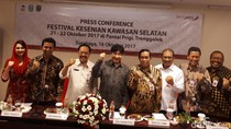 Guruh Soekarno Putra Isi Acara di Festival Kesenian di Trenggalek
