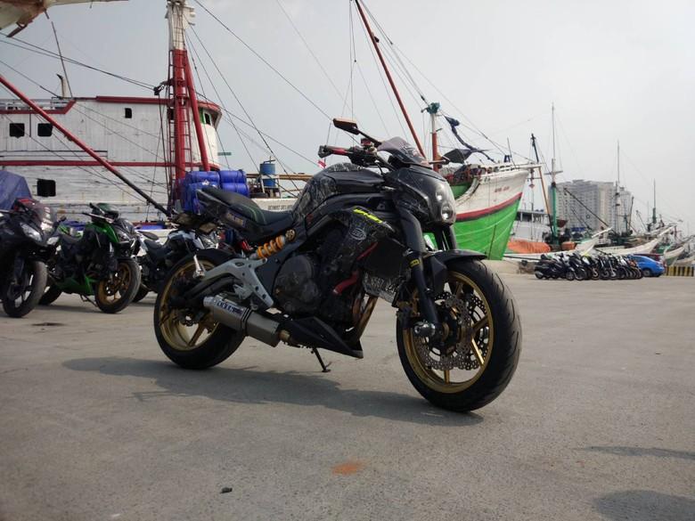 Kawasaki ER6n Full Modif Water Printing Nih..