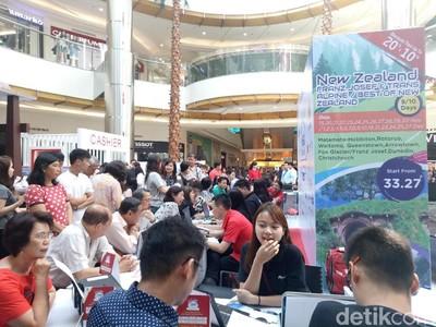 Bank Mega Targetkan Transaksi Rp 30 M di Mega Travel Fair Surabaya