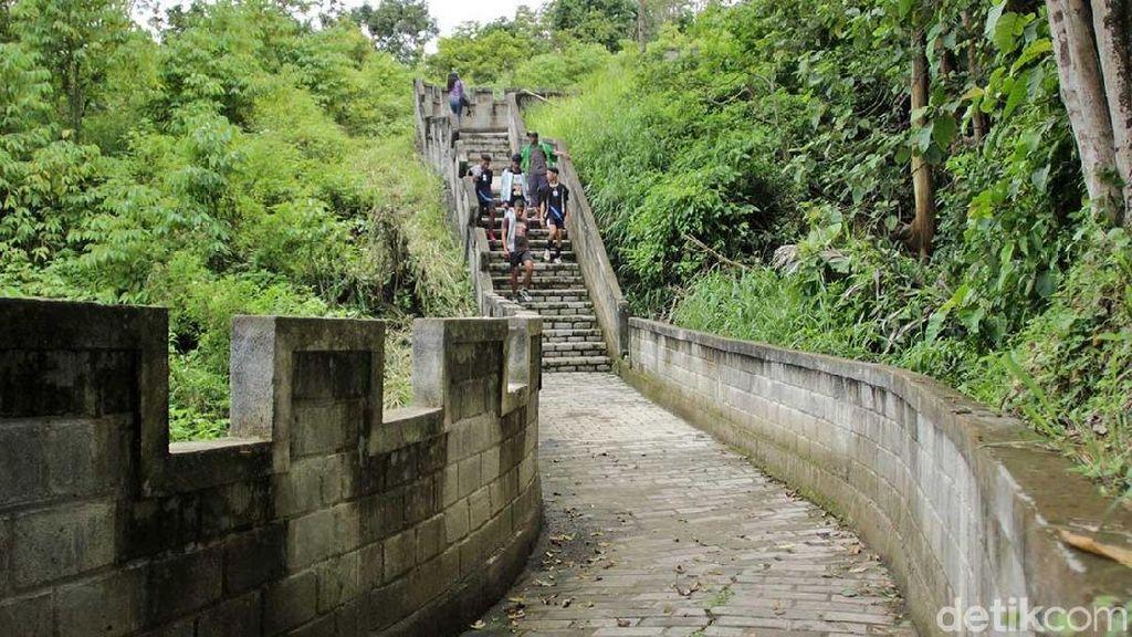 Foto: Tembok Besar dari Tanah Minang