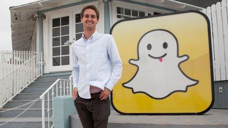 Baru 27 Tahun, Bos Snapchat Jadi Orang Paling Muda Terkaya di AS