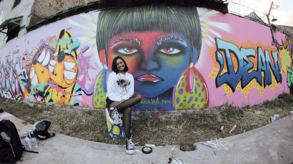 Diundang ke  Filipina, Bunga Fatia akan Buat Mural Ondel-ondel