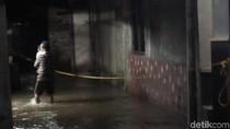 Lokasi Tanggul Karung Jebol di Jatipadang Tergenang Lagi