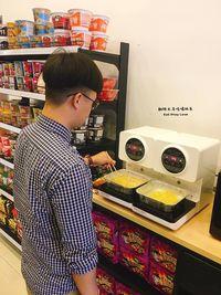 Ini alat yang digunakan untuk memasak mie instan dengan pelengkap telur. Enak!