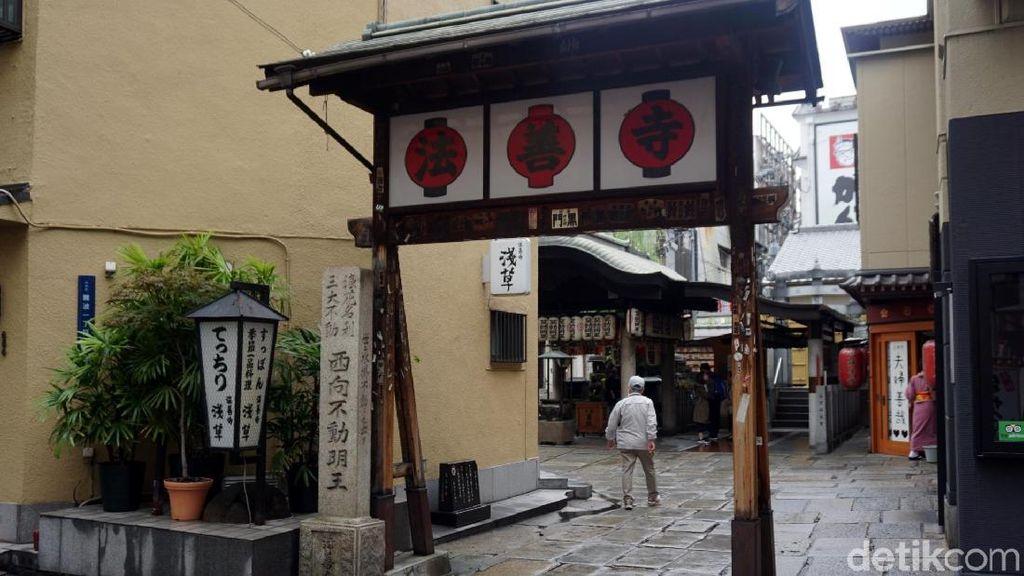 Kuil Buddha Berusia 4 Abad Tersembunyi di Osaka