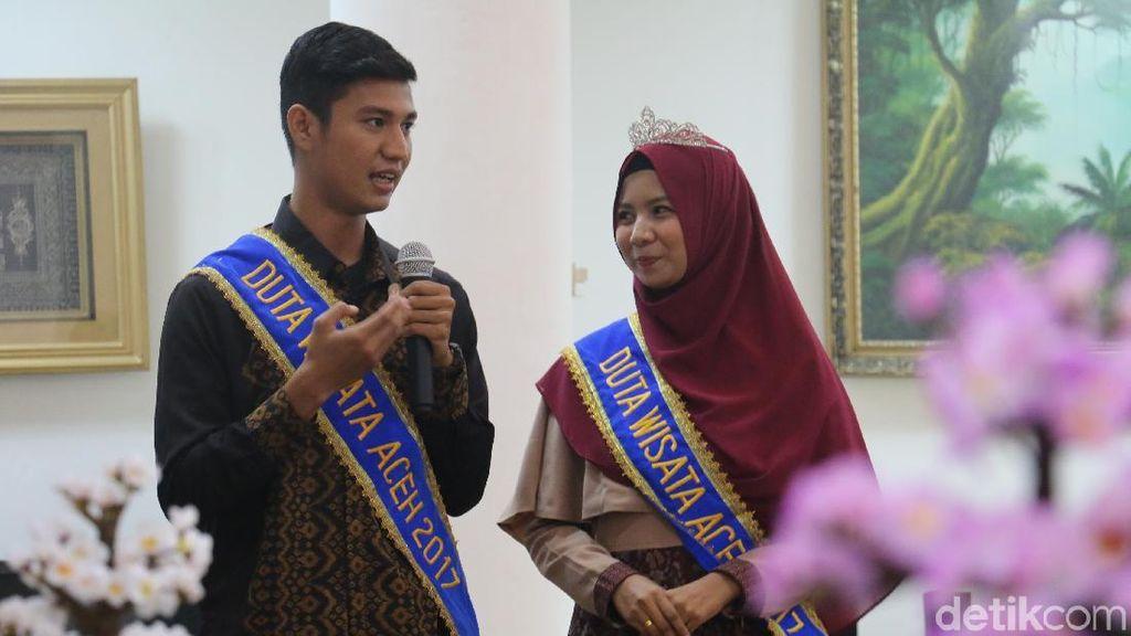 Ini Pesan Bupati Aceh Besar untuk Duta Wisata Aceh