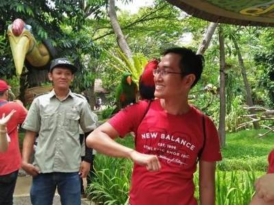 Merasakan Sambaran Burung di Faunaland Ancol
