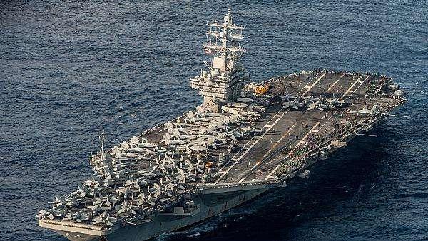 Kapal Induk Bertenaga Nuklir AS Patroli di Semenanjung Korea