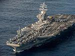 Kapal Canggih Amerika Serikat Merapat ke Korsel
