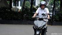 Jonan Suka Motor Listrik Gesits, Segera Lapor Jokowi