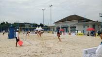 Test Event Voli Pantai di Jakabaring Nebeng Kejuaraan Asia Pasifik