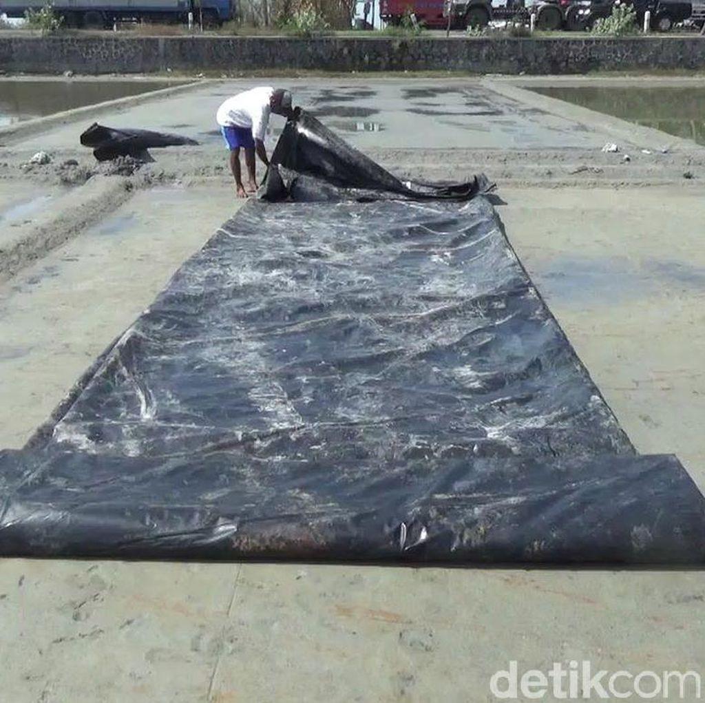 Petani Garam di Rembang Mulai Gulung Tikar
