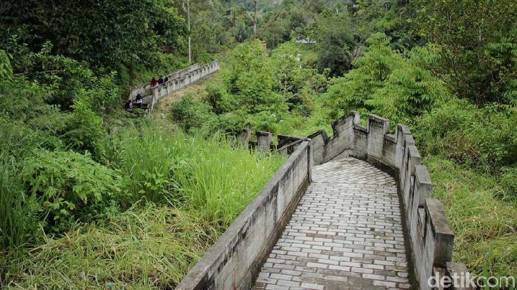 Bukan di China, Ini Great Wall dari Sumatera Barat