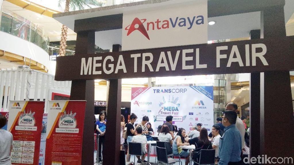 Destinasi Asia & Eropa Banyak Diburu di Mega Travel Fair Surabaya