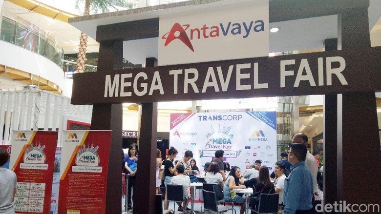 Mega Travel Fair Surabaya (Gracella/detikTravel)