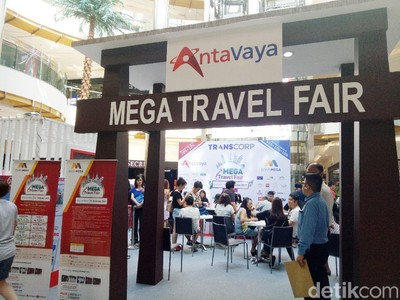 Antusiasme Traveler Ikuti Mega Travel Fair Surabaya