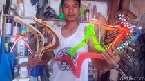 Bumerang Buatan Penjaga Sekolah di Sukabumi Ini Sudah Mendunia