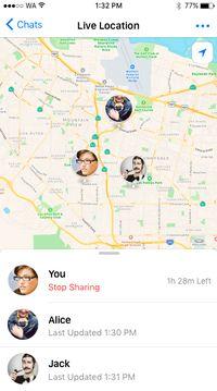 Begini Cara Menggunakan Pemantau Lokasi di WhatsApp