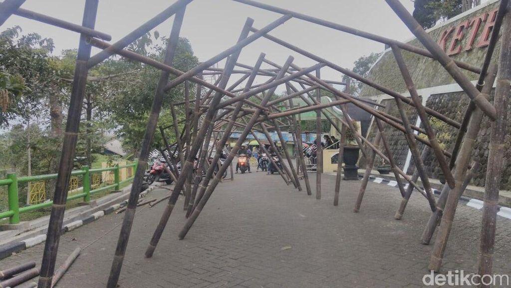 Besok, Digelar Bamboo Lighting Festival di Ketep Pass Magelang