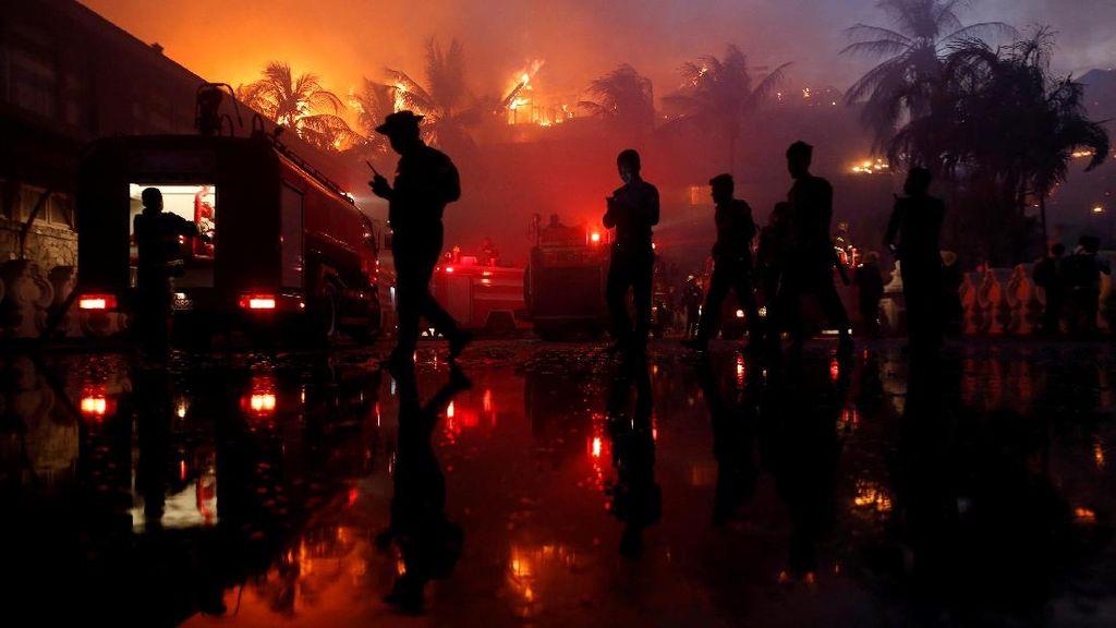 Hotel Mewah Bersejarah di Myanmar Terbakar, 1 Orang Tewas
