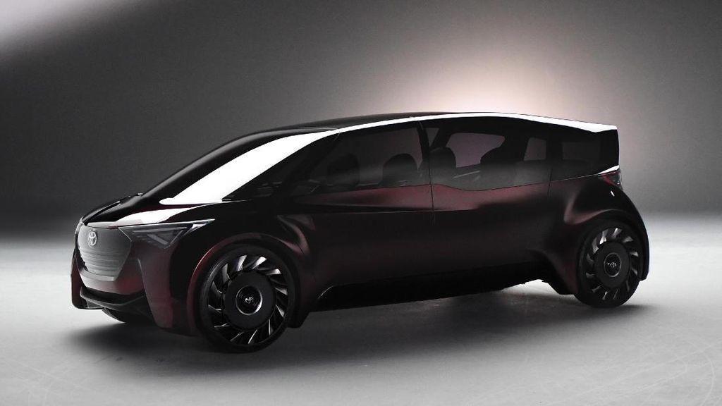 Mobil Keluarga Masa Depan Toyota, Pakai Tenaga Hidrogen