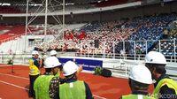 Pesan Jokowi di Hadapan 9.700 Pekerja Konstruksi