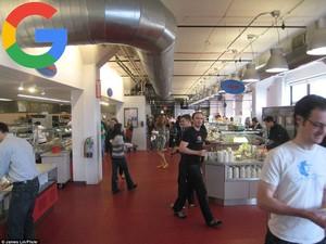 Yuk, Lihat Suasana dan Menu di Kantin Dropbox, Google hingga Apple!