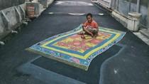 Deretan Lukisan 3D Keren Hiasi Jalanan Depok