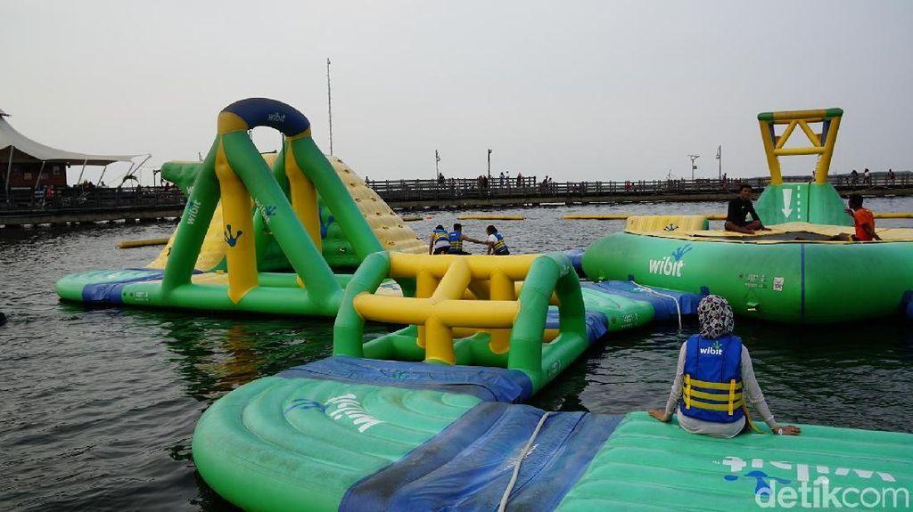 Yang Baru di Ancol: Bermain di Atas Air!
