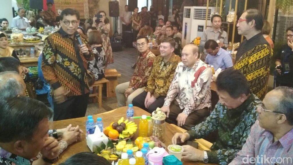 Cangkruk Bareng Konjen, Kapolda Jatim Beri Jaminan Keamanan