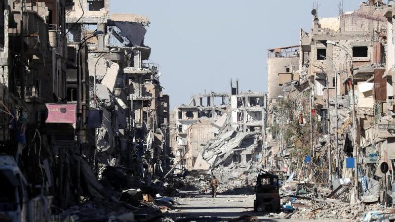Ini Dia Saksi Bisu Akhir Kekuasaan ISIS di Raqqa