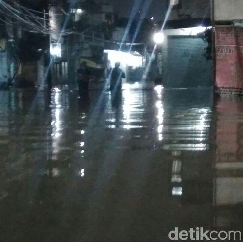 Banjir di Kemang Utara, Lalin Macet Total