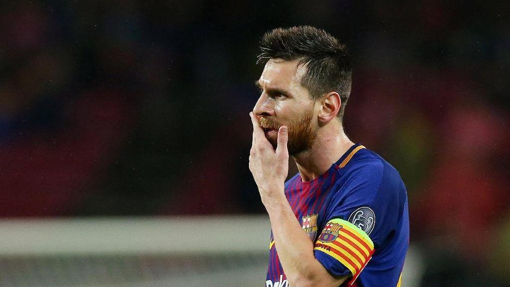 Messi Sedang Sulit Bobol Gawang Malaga