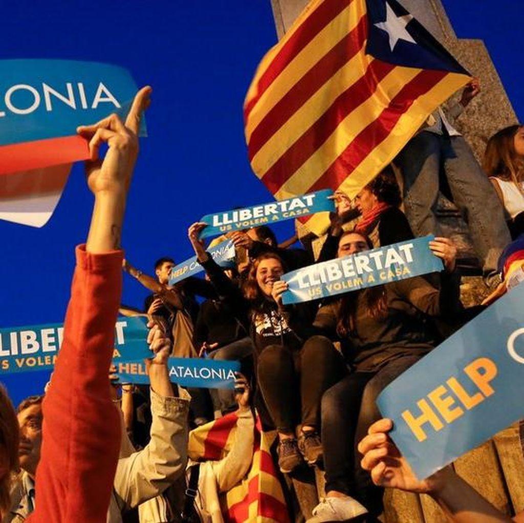 Spanyol Kembali Beri Ancaman Jika Kemerdekaan Catalunya Tak Dicabut