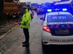 Hujan Guyur Jakarta: Tol Dalam Kota, Priok dan JORR Macet Parah